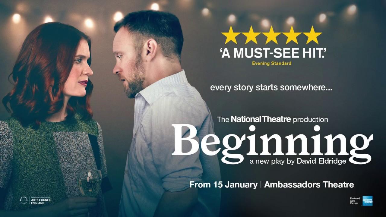 review beginning ambassadors theatre love london love culture