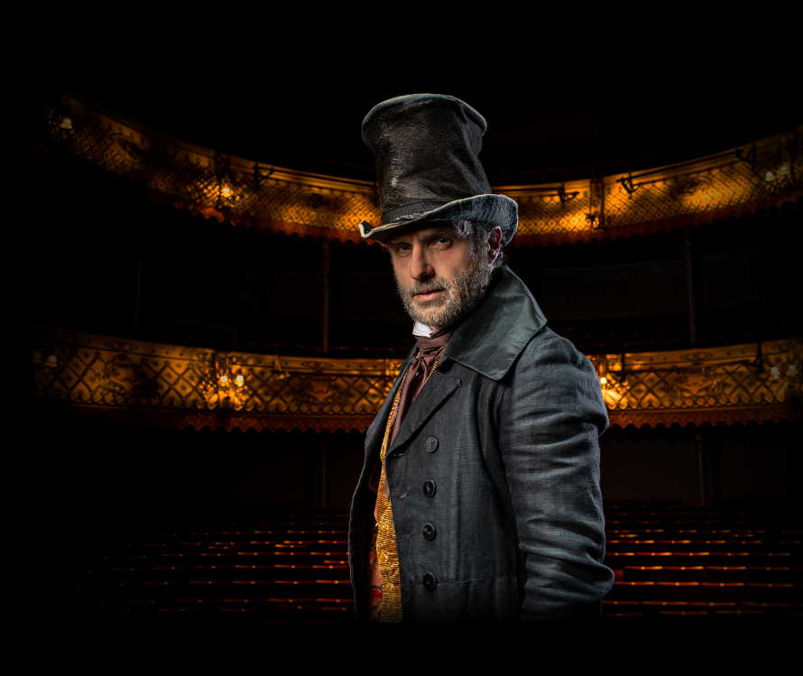 NEWS: Andrew Lincoln to Star as Scrooge in A Christmas Carol – Love London  Love Culture